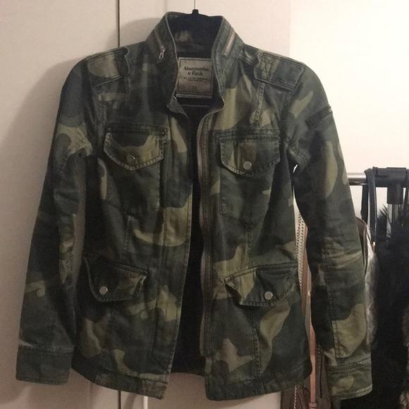 c9d9ca80c0a2d Abercrombie & Fitch Jackets & Blazers - Abercrombie Camo Utility Jacket